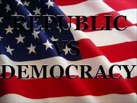 is america a democracy or a republic essay Is america a democracy or a republic america is a democracy i get into the democracy vs republic argument with libs all the time.